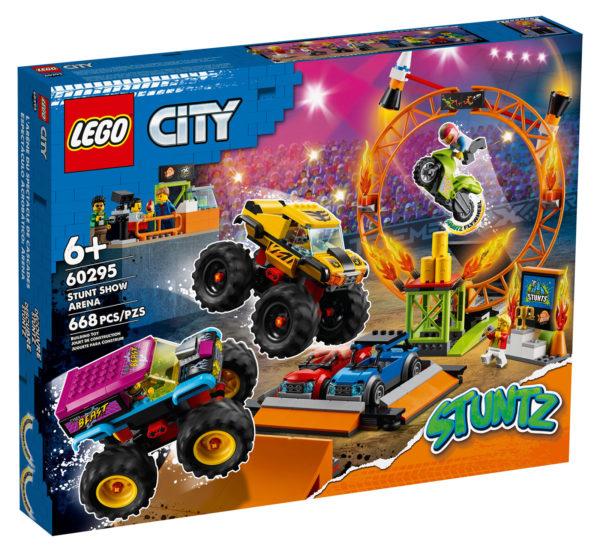 60295 lego city stunt show arena