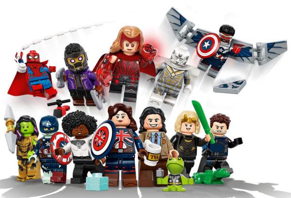 71031 lego marvel minifigures collectible series