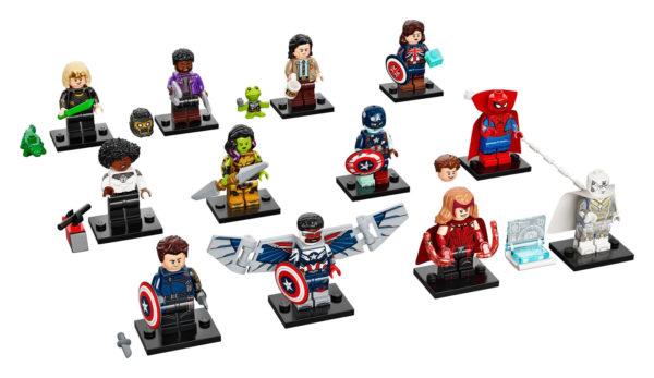 71031 lego marvel minifigures collectible series 2