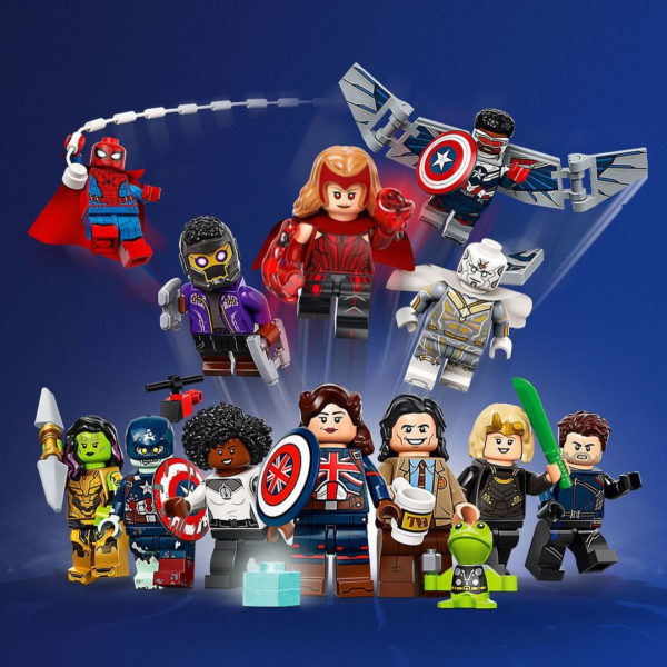 71031 lego marvel minifigures collectible series 8