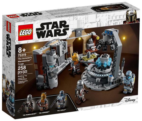 75319 lego starwars armorer mandalorian forge 1