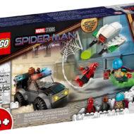 76184 lego marvel spiderman mysterio drone attack 1