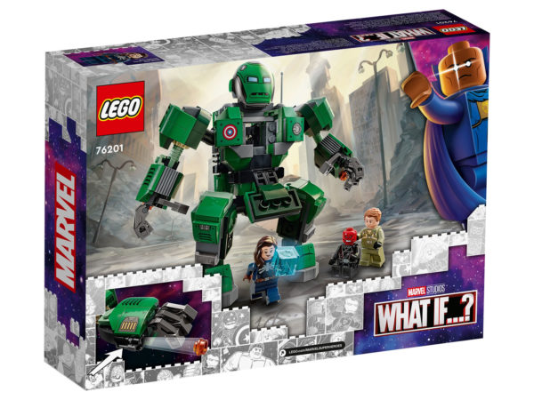 76201 lego marvel captain carter hydra stomper what if 5