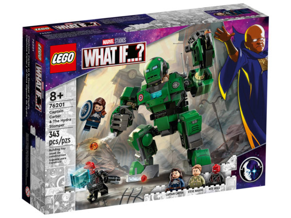 76201 lego marvel captain carter hydra stomper what if 7