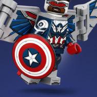 captain america sam wilson lego 71031