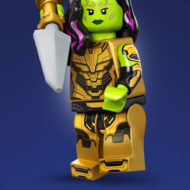 gamora thanos blade lego 71031