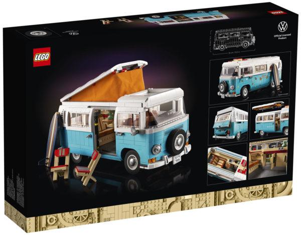 lego 10279 volkswagen t2 camper van box back