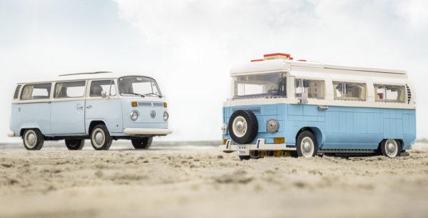 lego 10279 volkswagen t2 camper van vs real one 1