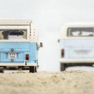 lego 10279 volkswagen t2 camper van vs real one 6