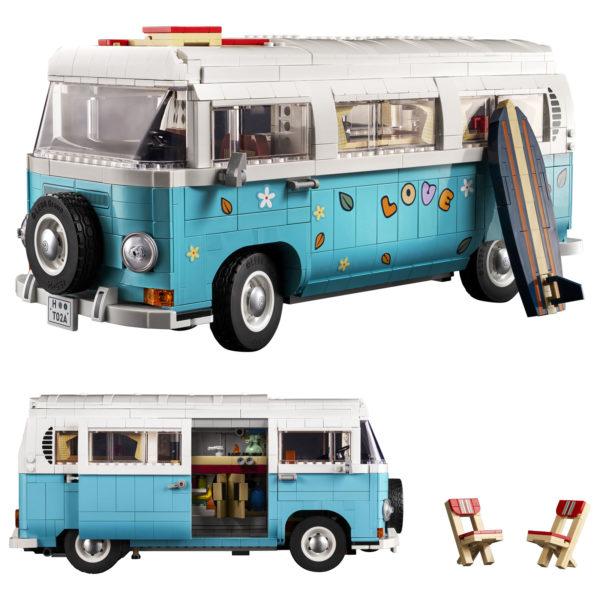 lego 10279 volkswagen t2 camper van 5