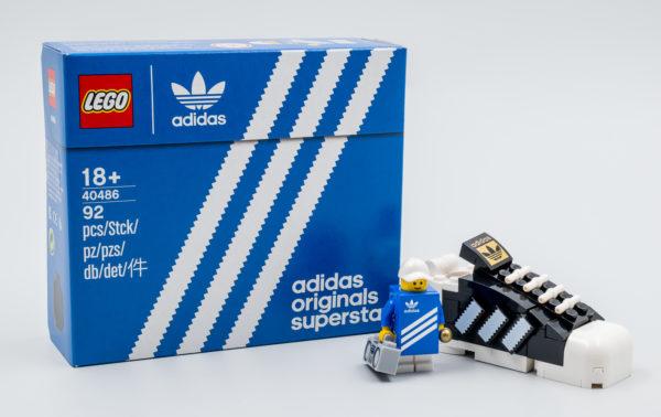 lego gwp 40486 adidas originals superstar 1