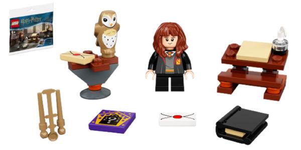 lego harry potter 30392 hermione study desk polybag gwp 1