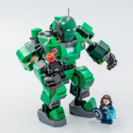 lego marvel what if 76201 captain carter hydra stomper 6