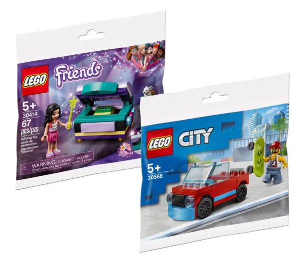 Sur le Shop LEGO : un polybag LEGO CITY ou Friends offert dès 40 € d'achat