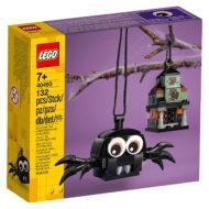 lego seasonal 40493 spider haunted house pack 2021 1