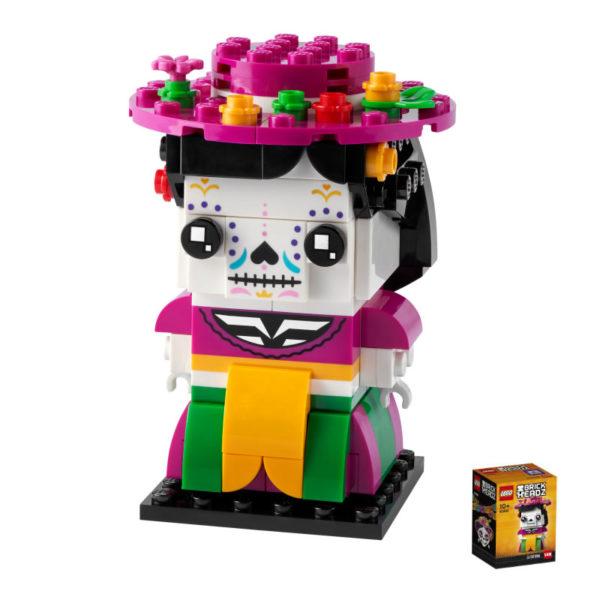 lego seasonal brickheadz 40492 la catrina