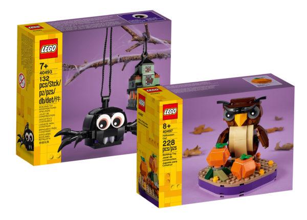 lego seasonal halloween 2021 40493 40497