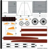 lego starwars 75309 republic gunship sticker sheet