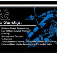 lego starwars 75309 republic gunship sticker sheet 2