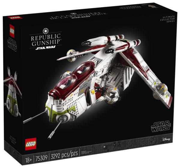 lego starwars 75309 ucs republic gunship box front