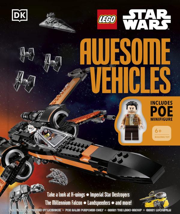 lego starwars awesome vehicles book 2022