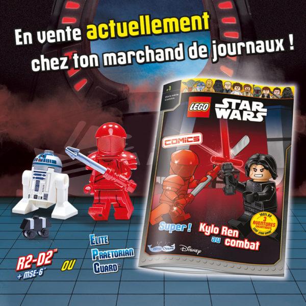 lego starwars comics magazine juin 2021