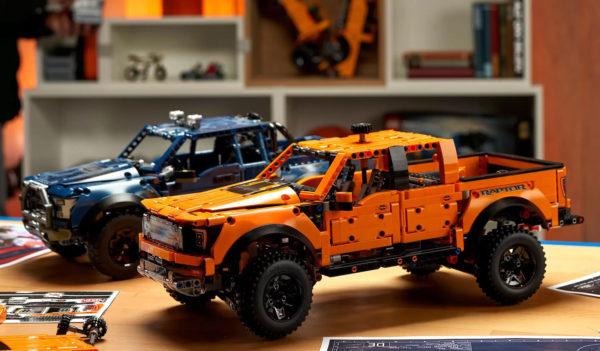 lego technic 42126 ford raptor blue version 2