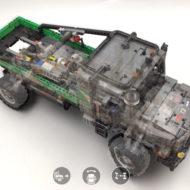 lego technic 42129 4x4 mercedes benz zetros trial truck 17