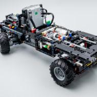 lego technic 42129 4x4 mercedes benz zetros trial truck 8
