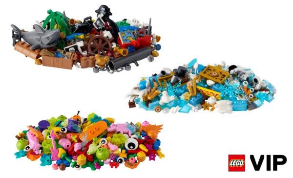 new 2021 lego vip addon packs 40512 40513 40514 40515