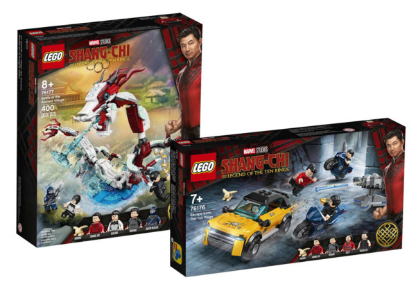 new lego marvel shang chi 76176 76177 shop august 2021