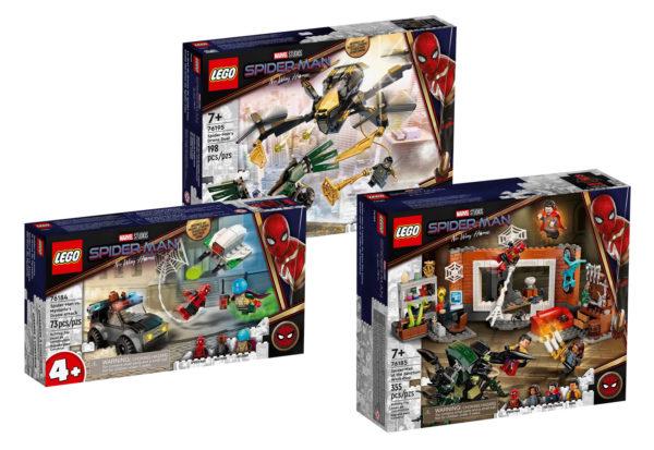 new lego marvel spiderman no way home july 2021