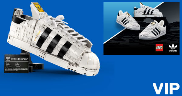 vip lego tirage au sort adidas superstar originals juillet 2021