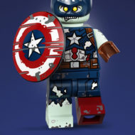 zombie captain america lego 71031