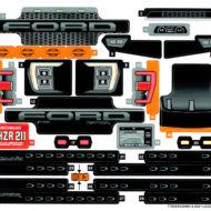 42126 lego technic ford f150 raptor sticker sheet 1