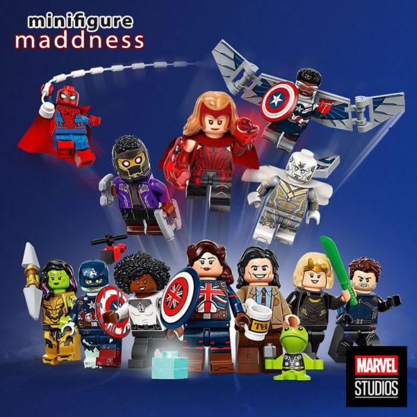 71031 lego marvel studios collectible minifigures series preorder 2021
