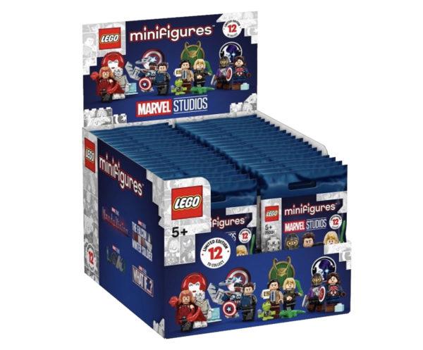 71031 lego marvel studios collectible minifigures series preorder 2021 box