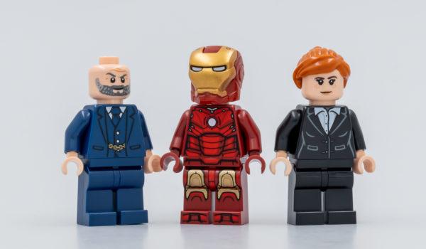 76190 lego marvel iron man iron monger mayhem 13