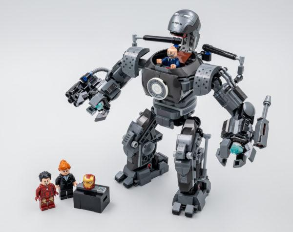 76190 lego marvel iron man iron monger mayhem 4