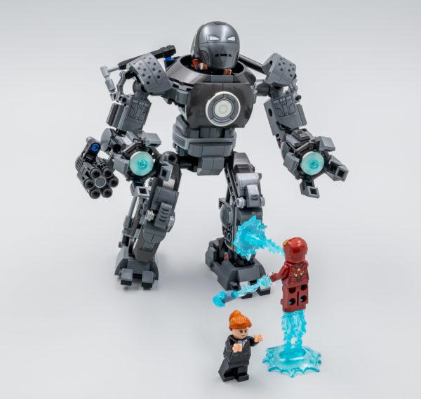76190 lego marvel iron man iron monger mayhem 5