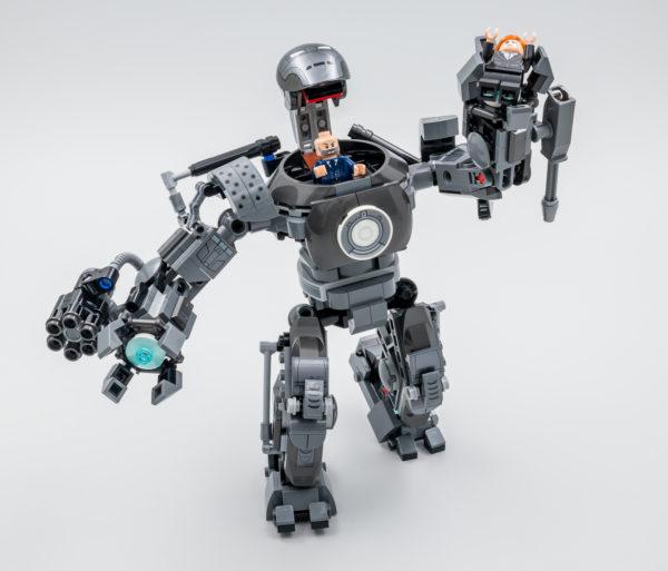 76190 lego marvel iron man iron monger mayhem 8