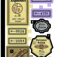 76391 lego harry potter hogwarts icons collector edition sticker sheet