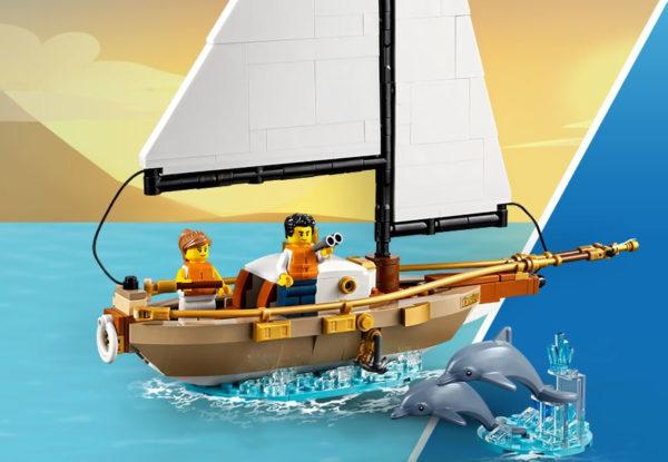 Concours : un exemplaire du set LEGO Ideas 40487 Sailboat Adventure à gagner !