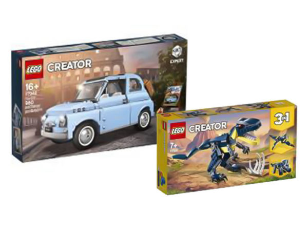lego alternative sets colors fiat 500 dinosaurs