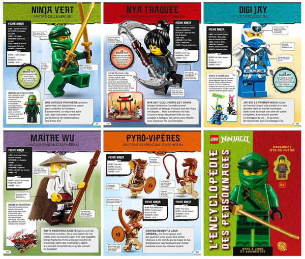 lego ninjago encyclopedie personnages augmentee 2021 future nya minifig exclusive 2