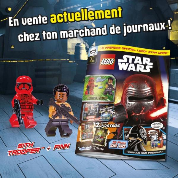 lego starwars magazine aout 2021 sith trooper finn 1