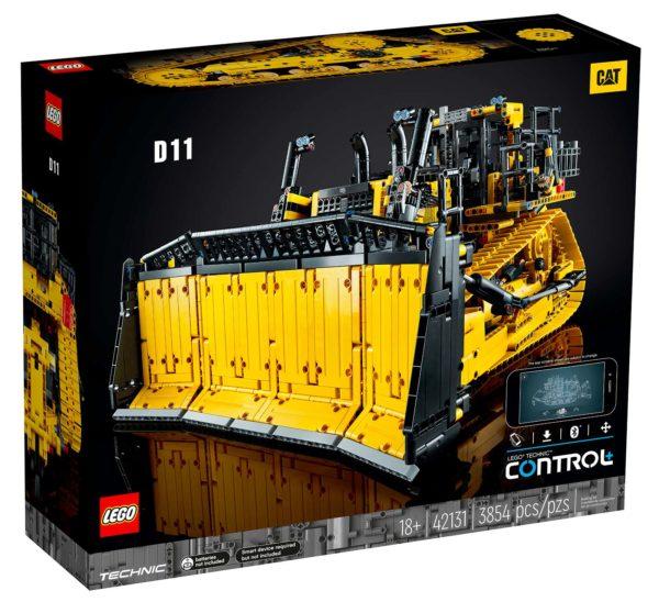 lego technic 42131 app controlled cat d11 bulldozer 1