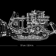 lego technic 42131 app controlled cat d11 bulldozer 6