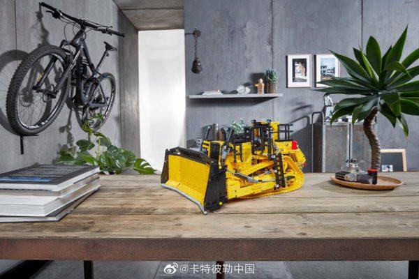 lego technic 42131 cat d11t bulldozer 10