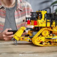 lego technic 42131 cat d11t bulldozer 11